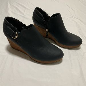 Wynter Wedge Booties By Dr. Scholls Size 9.5